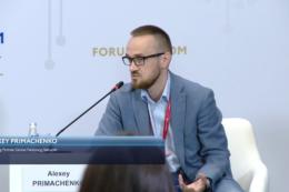 Управляющий партнер Global Factoring Network Алексей Примаченко принял участие в дискуссии в формате финансового батла Российского форума малого и среднего предпринимательства